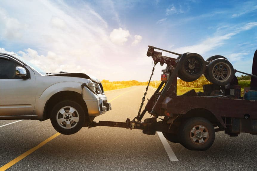 white rock towing companies